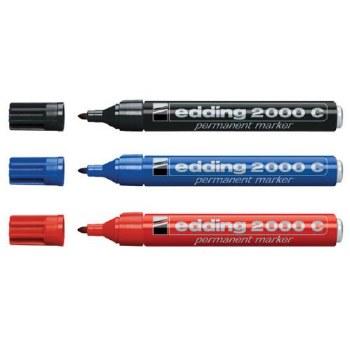Edding 2000C Perm. Markers (3)