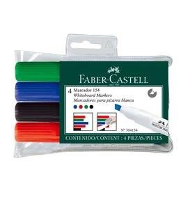 Faber W/B Marker - Asst (4)