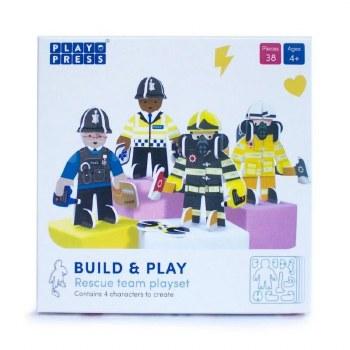 Build & Play - Rescue Team