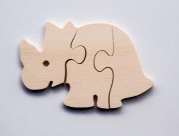 Jigsaw - Triceratops