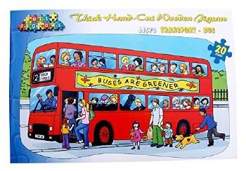 Large Floor Puzzle - Bus