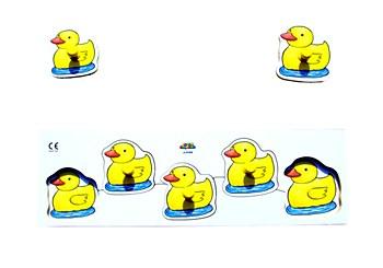 Giant Sorting Board Ducks