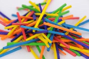 Coloured Matchsticks (250)