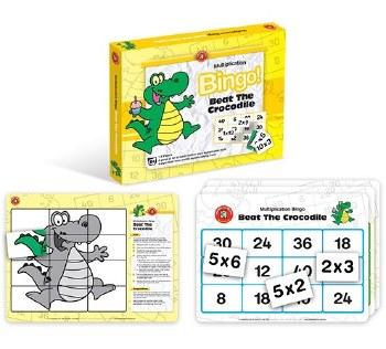 Beat The Crocodile Bingo