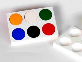 Six Well Paint Palette