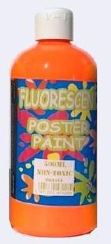 Fluorescent Poster Paint Orang