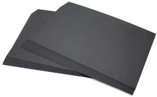 A2 Black Sugar Paper (250)