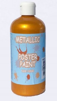 Poster Paint - Gold (500ml)