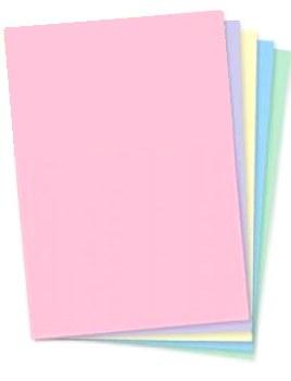 A4 Col Paper - Pastel (100)
