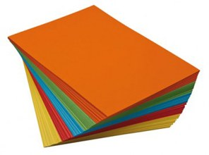 A3 Coloured Paper - Bold (50)