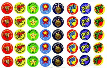 Sports Day - Stickers