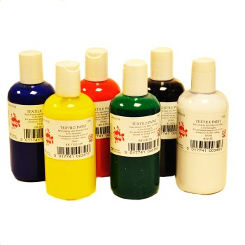 Fabric Paint Set  (6)