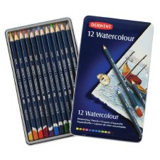 Derwent Watercolour Pencil 12s