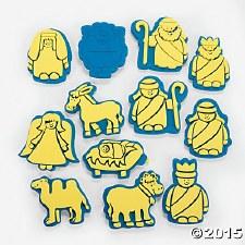 Foam Stamps - Nativity