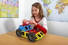 Magnetic Polydron & Wheel Set