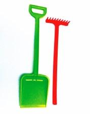 Long Handle Shovel & Rake
