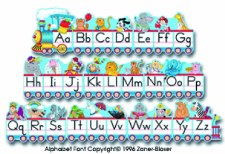 BB - Alphabet Train
