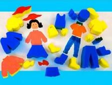 People Shape Sponges