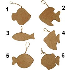 Fish Hanging Decorations 1