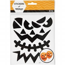 Pumkin Face Stickers