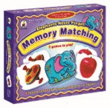 Memory Matching Elephants