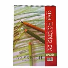 Create Spiral Sketch Pad A2