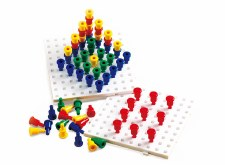 Jumbo Peg Boards+ Pegs Set