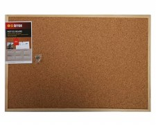 Bi-Office Cork Board