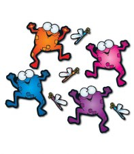 BB - Colourful Frogs