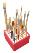 Plastic Brush Holder .