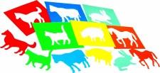 Farm Animal Stencils