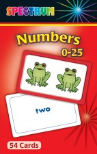 Flash Cards - Numbers 0-25