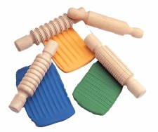 Wooden Rolling Pins - Set 4