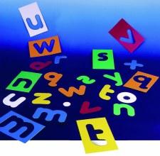 ABC Cursive Stencils