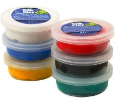 Silk Clay - 6 x Assorted