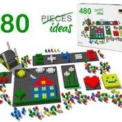 Pixel Blocks & Boards - 480pc