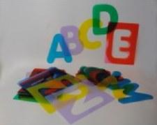 ABC Stencil Kit U/C