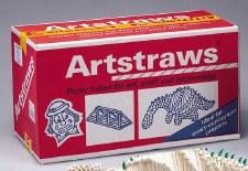 4mm White Art Straws(Class PK)