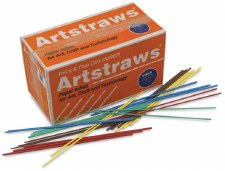 Art Straws - Coloured (1760)