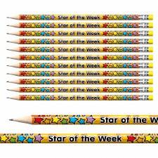 Award Pencils Star of Week
