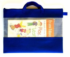 B4 Canvas Carry Bag (1) - Blue