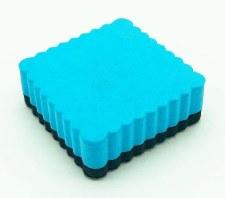 Magnetic Eraser - Blue Square
