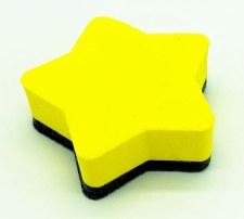 Magnetic Eraser - Yellow Star