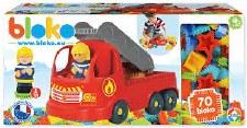 Bloko Fire Truck 70pce