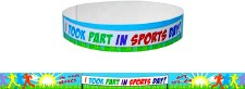 Sports Day - Wristbands