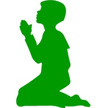 Boy Kneeling Shapes