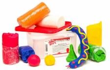 Coloured Playdough (8)
