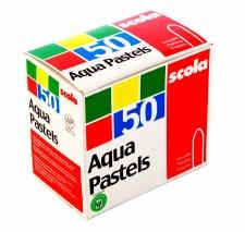 Aqua Pastels - 50's