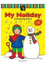 Colouring Book My Holiday