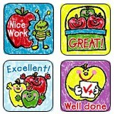 Merit Stickers - Apples